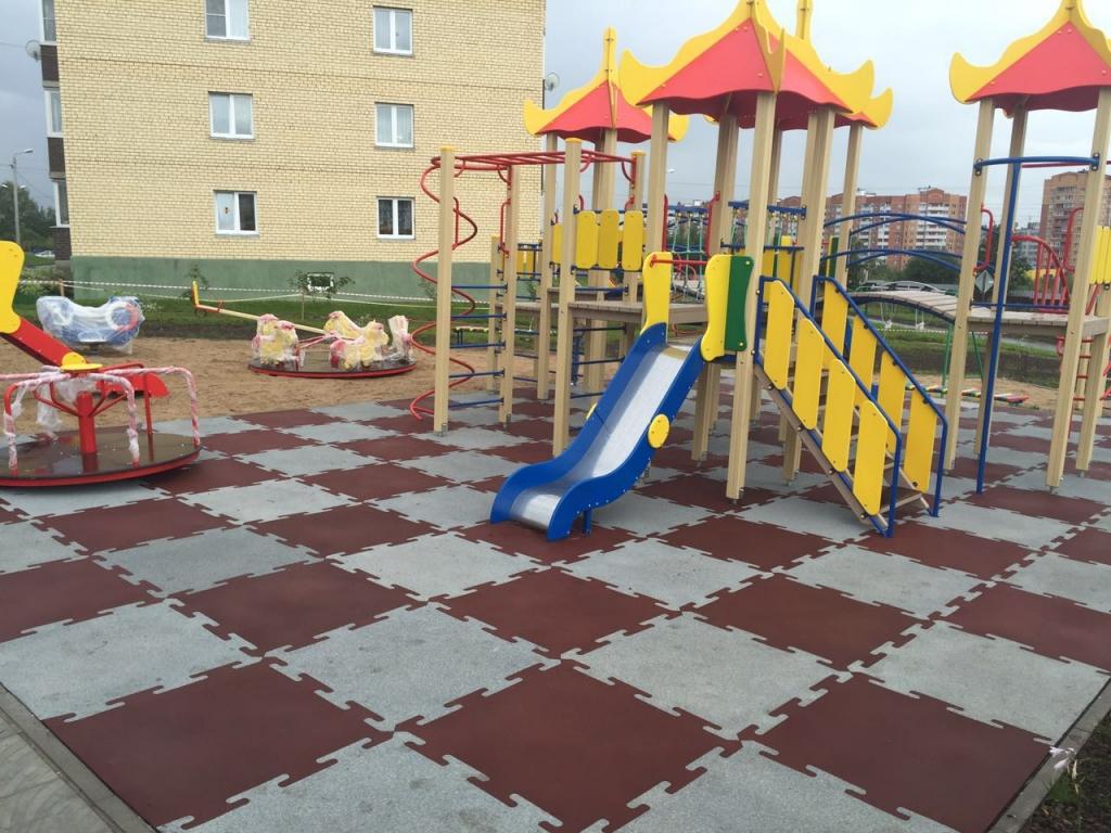 резиновая плитка пазл в Ставрополе
