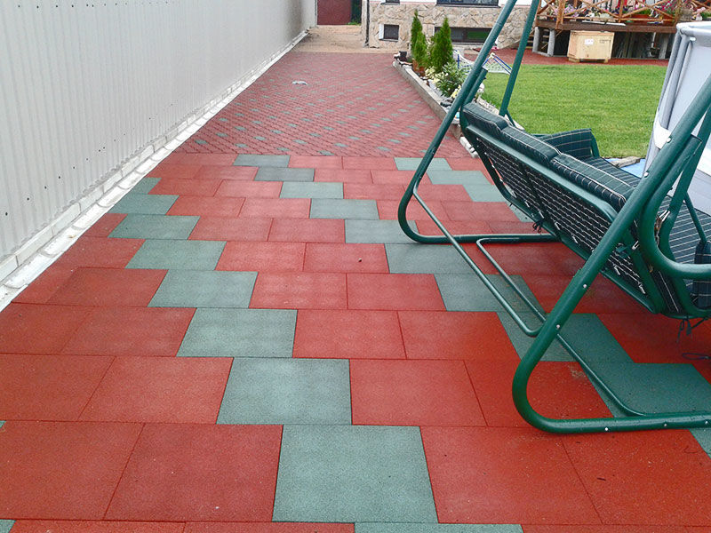Резиновые плитки для садовых дорожек цена в Ставрополе