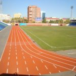 резиновые покрытия стадионов цена