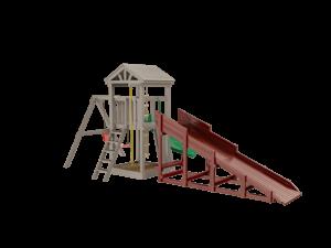 Модуль Snow Fox, скат 4 м