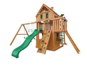 """Деревянная детская площадка для дачи """"Навигатор 2"""""""