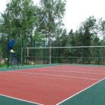 покрытие волейбольной площадки на улице цена