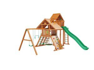 """Деревянная детская площадка для дачи """"Крепость Deluxe"""" +"""