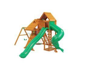 """Деревянная детская площадка для дачи """"Крепость Deluxe"""" 3"""
