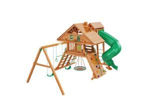 """Деревянная детская площадка для дачи """"Крепость Deluxe"""" 2"""